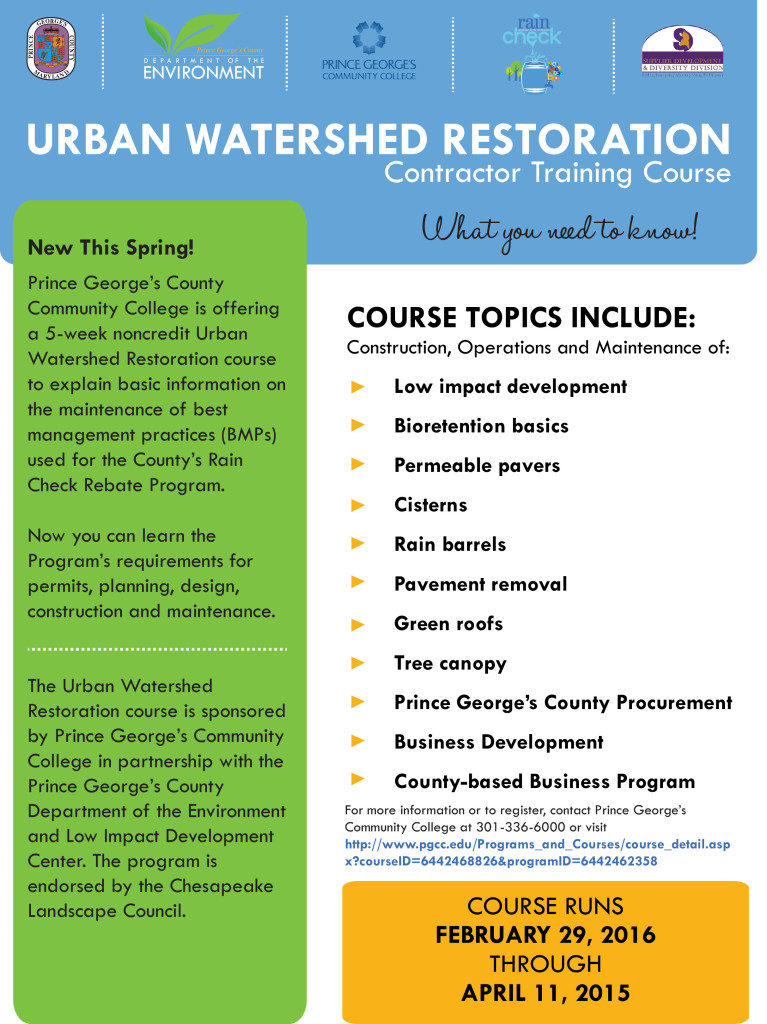 Urban Watershed Restoration16