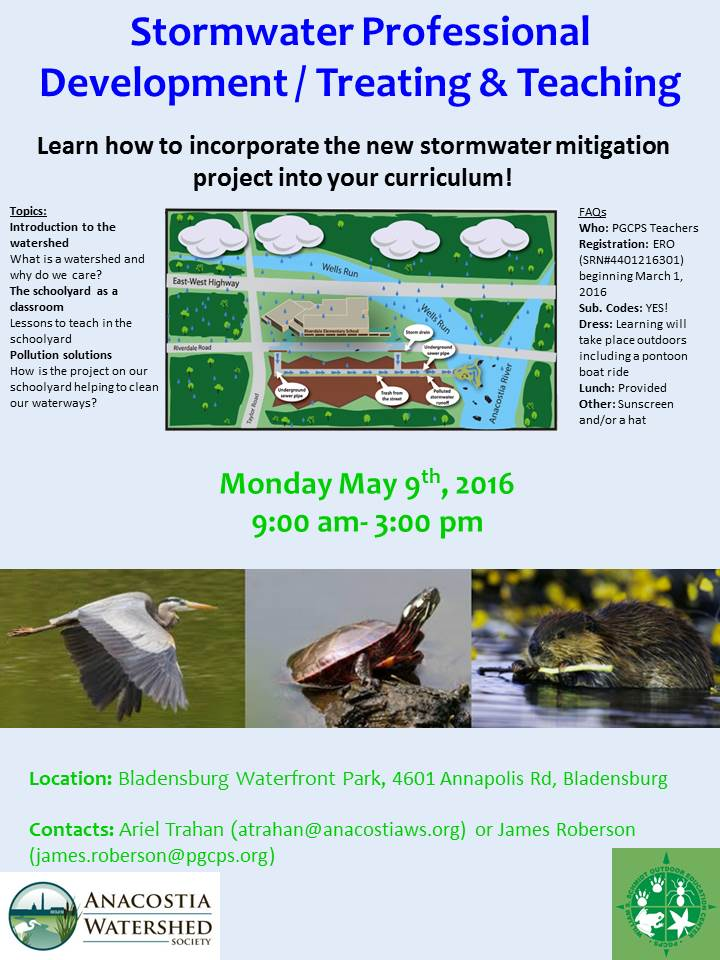 Stormwater PD Flyer May 9 2016